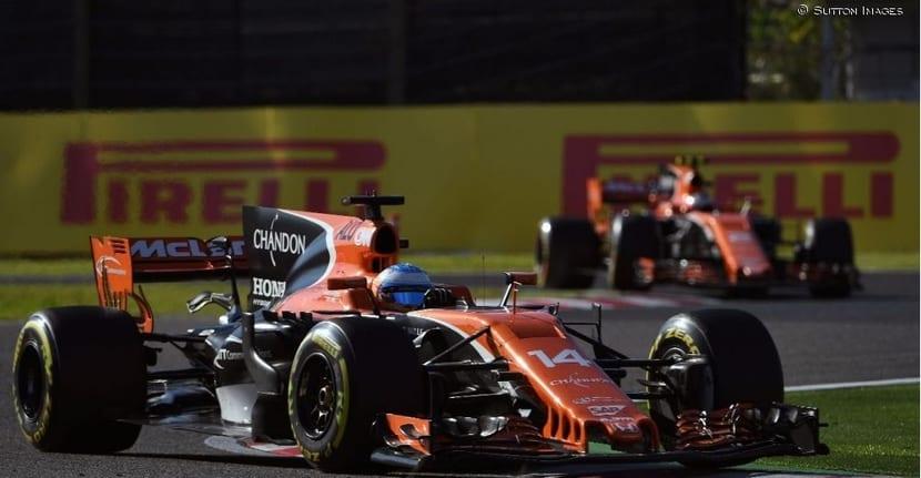 McLaren MCL32: Fernando Alonso