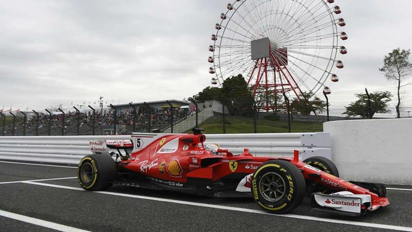 Ferrari en Suzuka