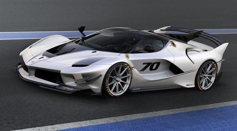 Lateral del Ferrari FXX-K Evo