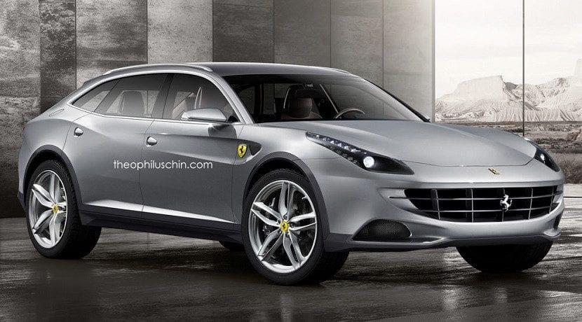 SUV de Ferrari (recreación)