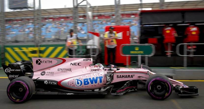 Force India color rosa
