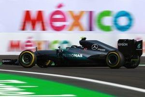 Lewis Hamiton en el GP de México