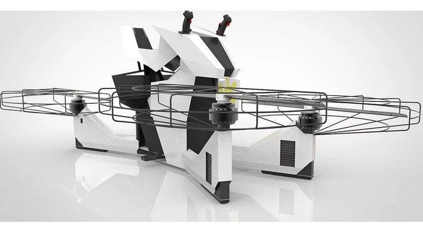 Dron tripulado Scorpion