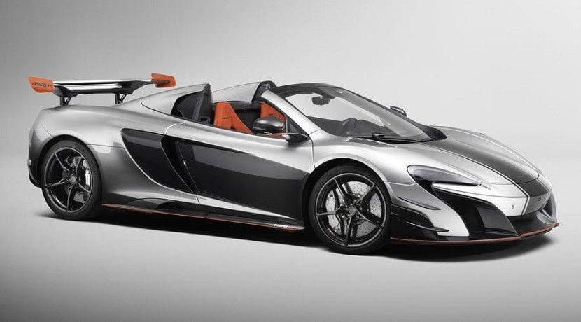 McLaren MSO R Spider