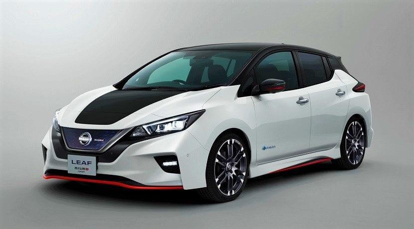 Frontal del Nissan Leaf Nismo