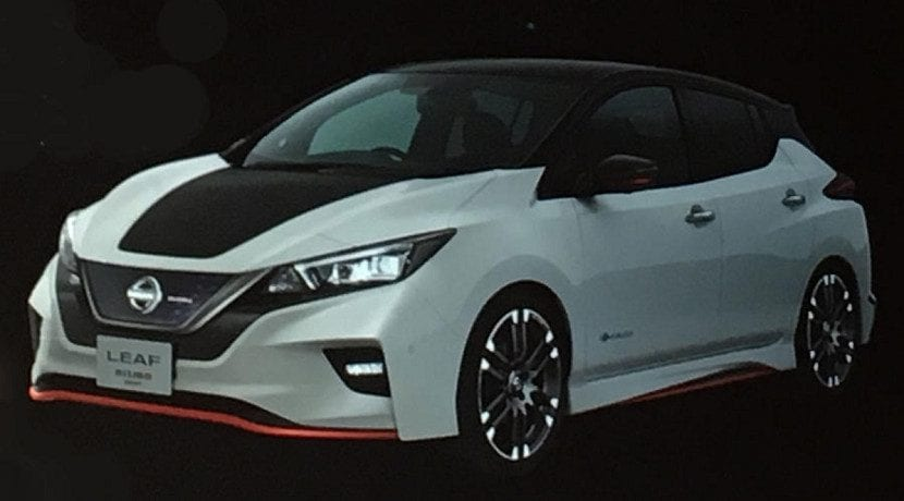 frontal del Nissan Leaf Nismo concept