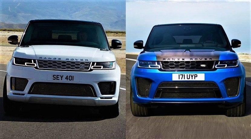 Range Rover Sport SVR Vs. Range Rover Sport P400e