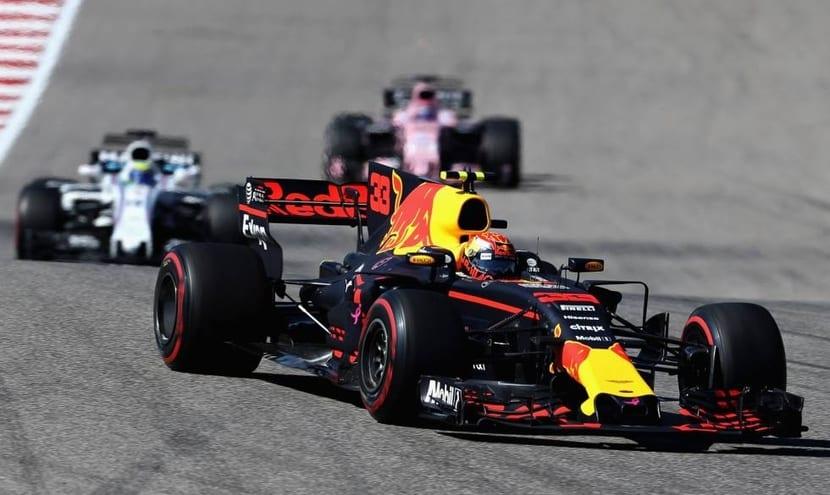Coche de Red Bull F1 2017