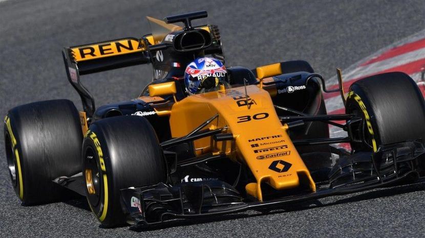 Renault F1 de 2017