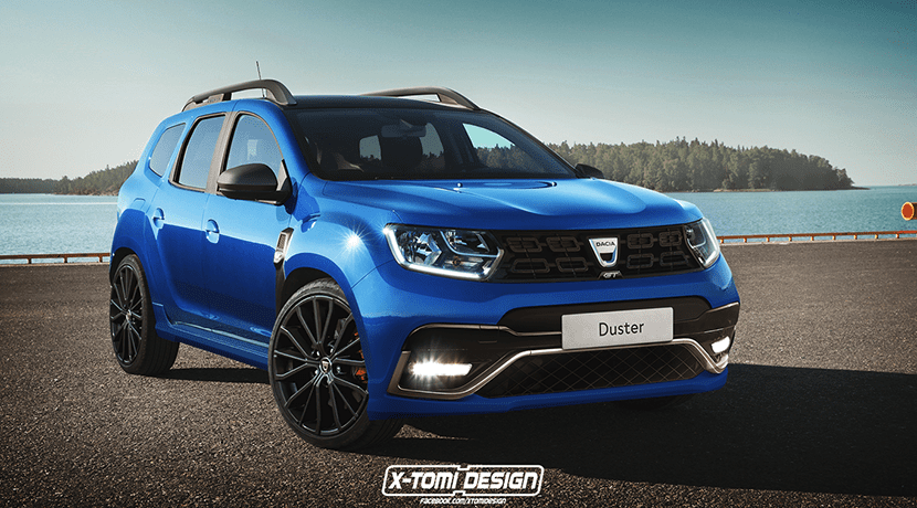Render Dacia Duster