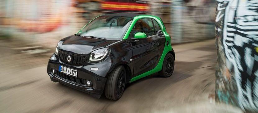 Smart Fortwo ED ejemplo de coche microhibrido