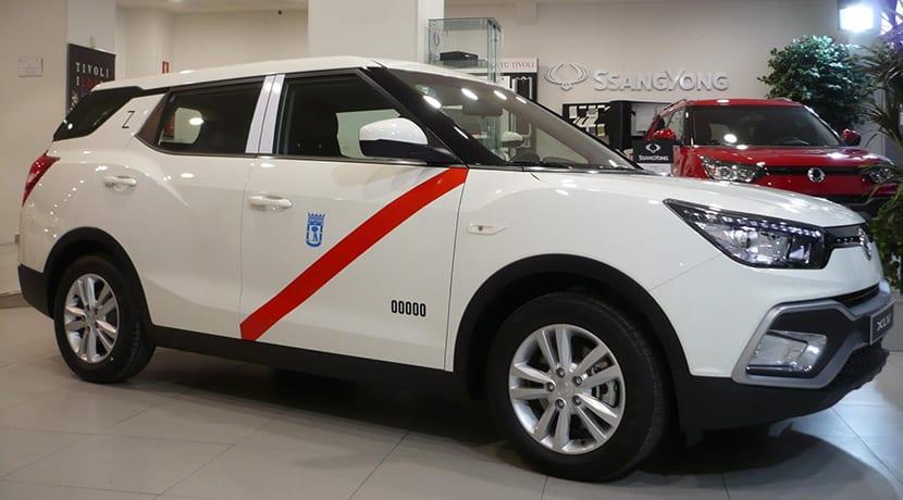 SsangYong XLV taxi de GLP