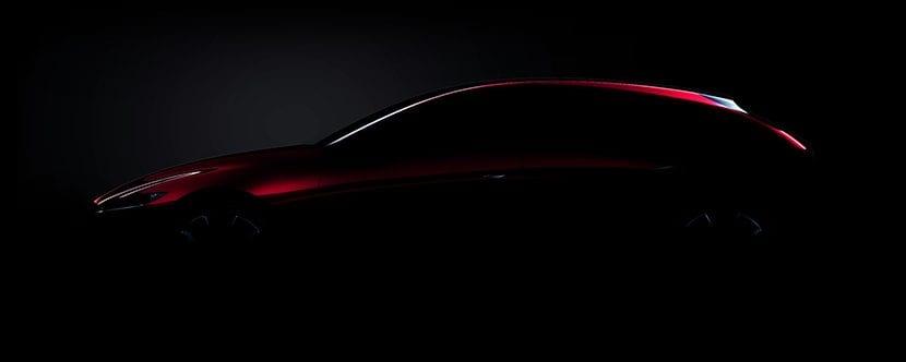 Teaser Mazda3 Concept