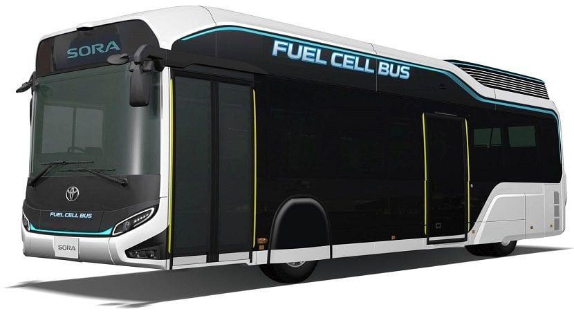 Autobús de hidrógeno Sora de Toyota