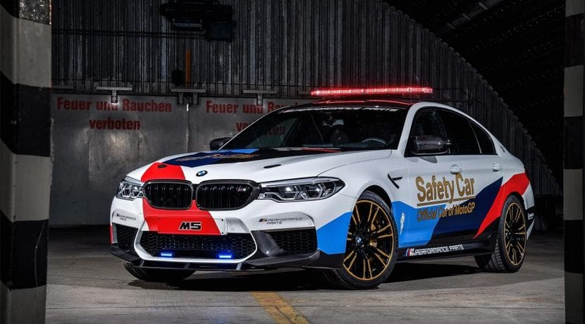 BMW M5 Safety Car