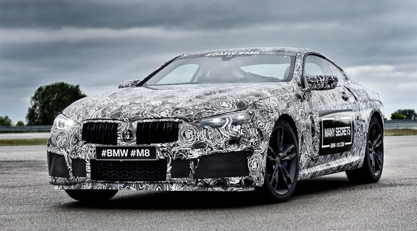 BMW M8 Nurburgring
