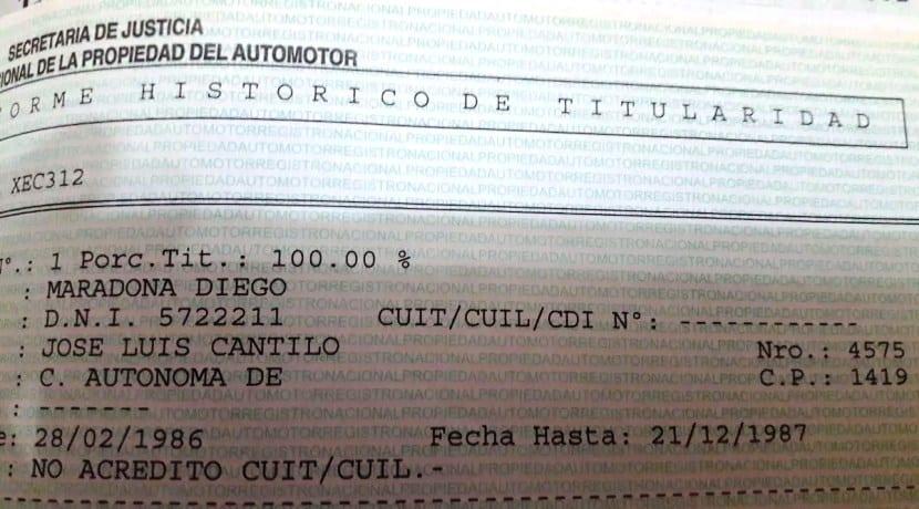 Ford Sierra XR4 Maradona 0