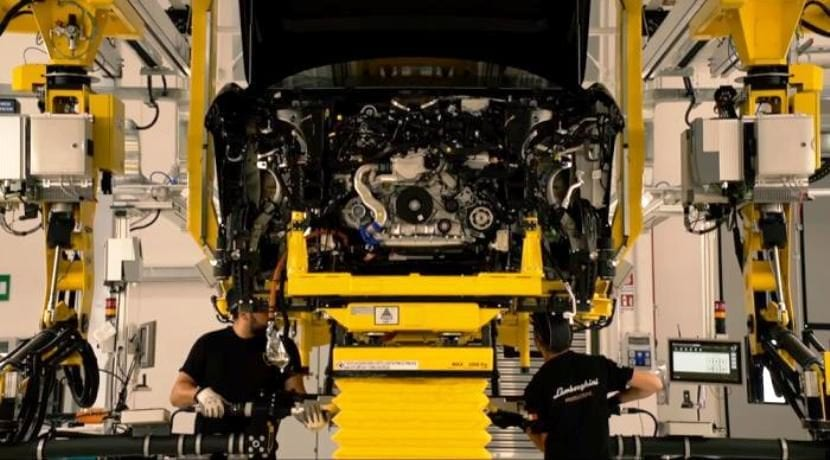 Lamborghini Urus Production