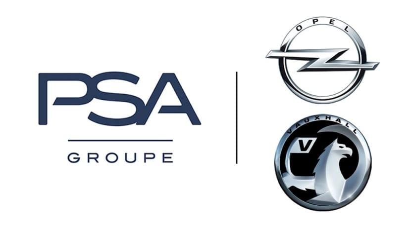 Logo Grupo PSA Opel Vauxhall