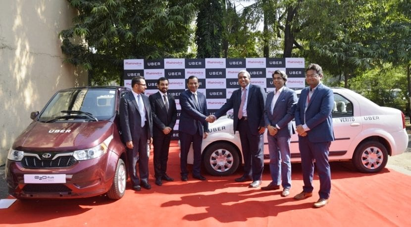 Mahindra coches eléctricos Uber