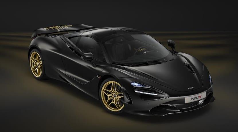 McLaren 720S Dubai Motor Show