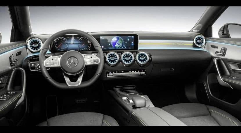 Mercedes-Benz Clase A 2018 interior