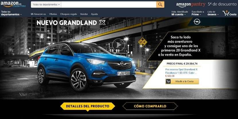 Opel Grandland X Amazon España