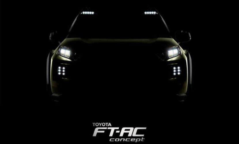 Toyota FT-AC Concept teaser
