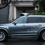 Volvo Uber coche autónomo
