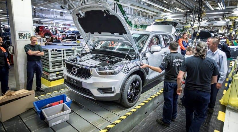 Volvo XC40 Producción