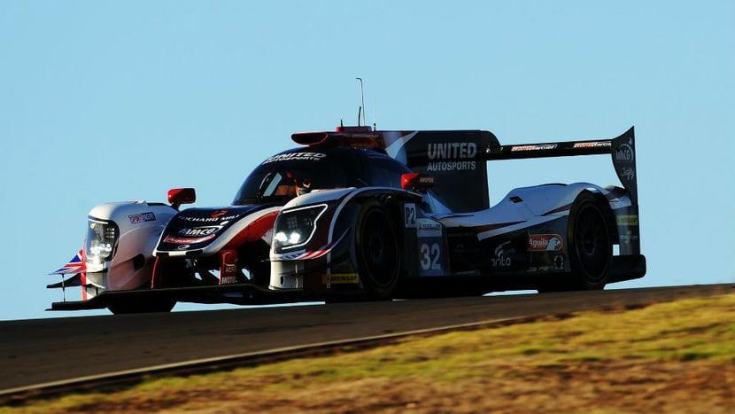 Alonso en el Ligier de Daytona