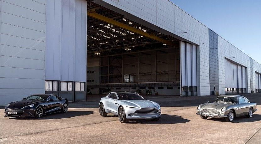 Con Brexit sin acuerdo Aston Martin pararía de fabricar coches