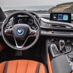 Interior del BMW i8 Roadster