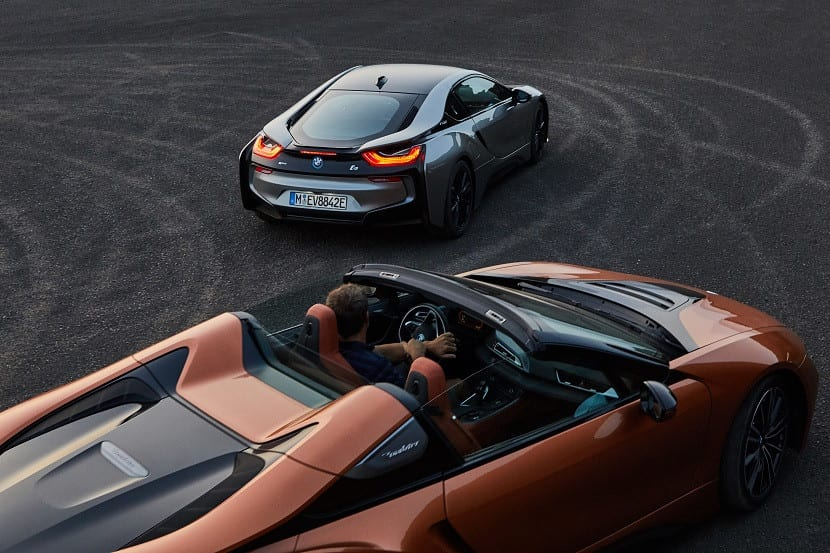 Conducción del BMW i8 Roadster