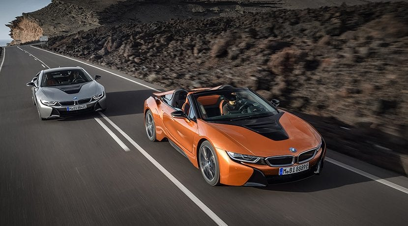BMW i8 Roadster y BMW i8 Coupé