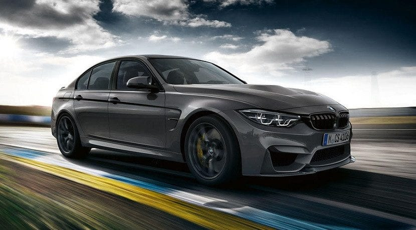 Frontal y lateral del BMW M3 CS
