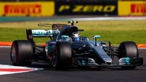 Bottas con el Mercedes F1 2017