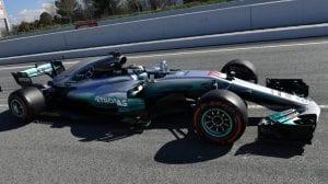 Valtteri Bottas en el Mercedes F1 2017
