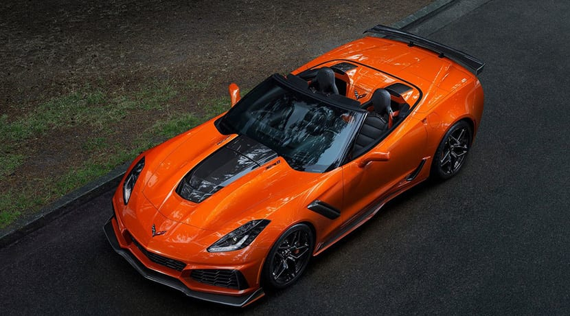 Chevrolet Corvette ZR1 Convertible