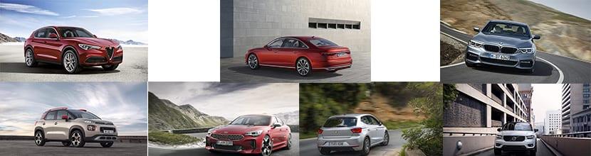 Finalistas coche del año 2018 Europa