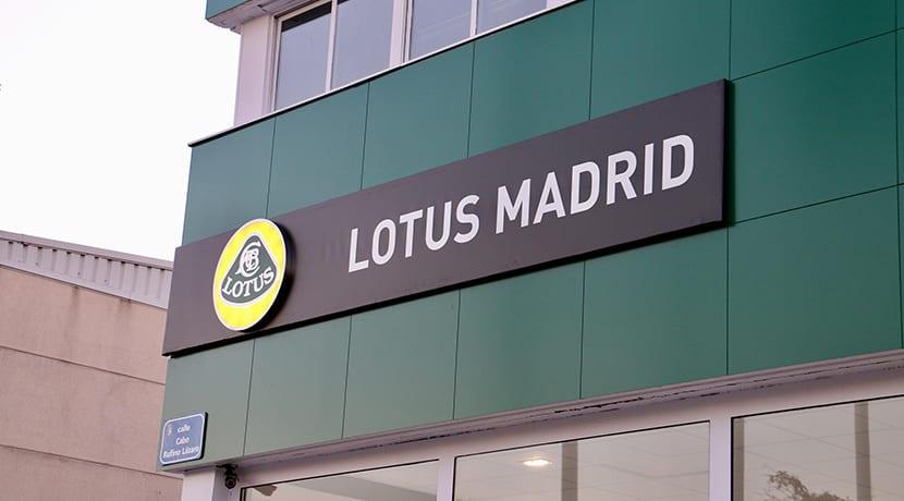 Concesionario Lotus Madrid en Las Rozas
