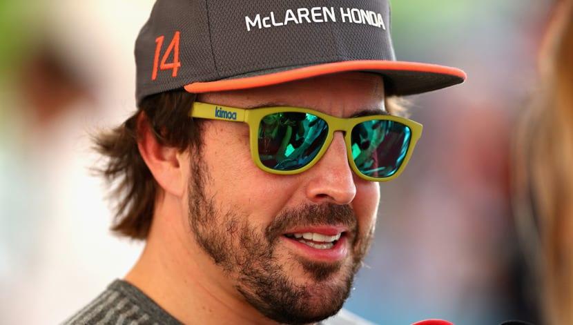 Fernando Alonso en Abu Dabi