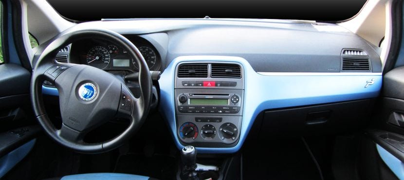 Salpicadero del Fiat Grande Punto