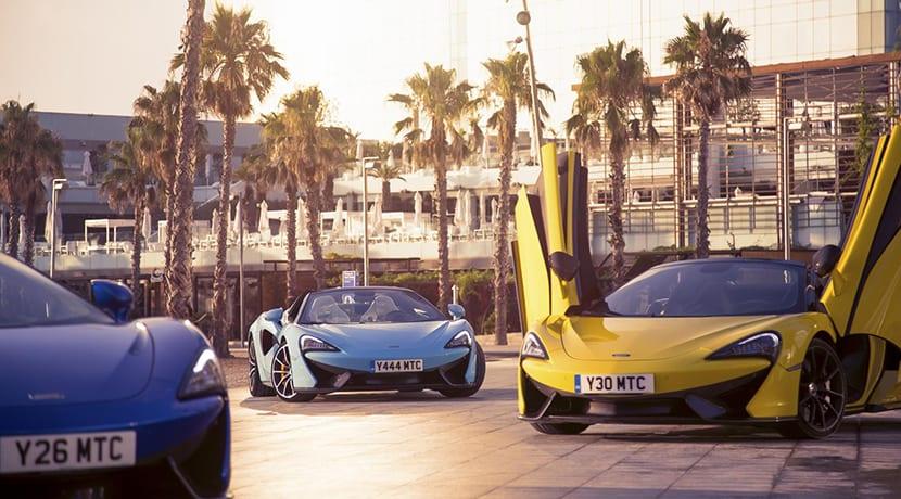 McLaren inaugura concesionario en Barcelona