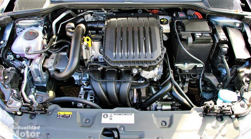 Motor con pérdida de potencia
