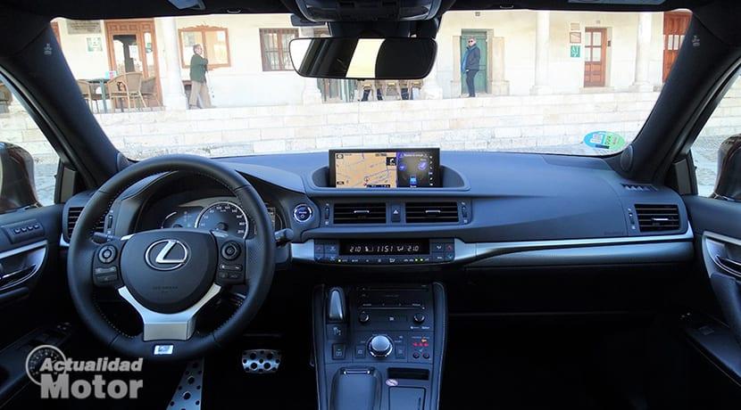 Prueba Lexus CT 200h