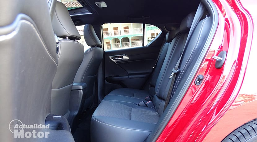 Prueba Lexus CT 200h plazas traseras