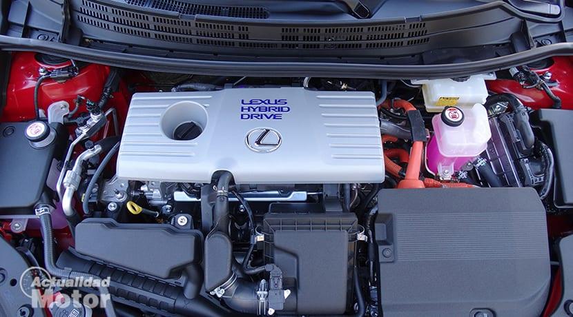 Prueba Lexus CT 200h motor híbrido