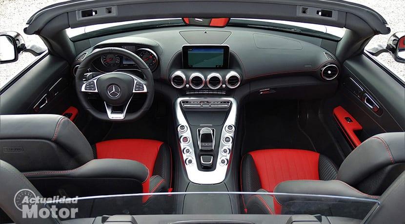 Prueba Mercedes-AMG GT Roadster interior