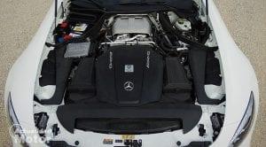 Motor V8 4.0 Biturbo Mercedes-AMG GT Roadster